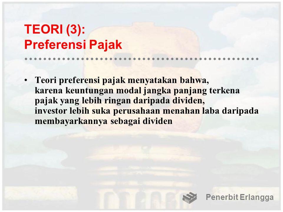 TEORI (3): Preferensi Pajak