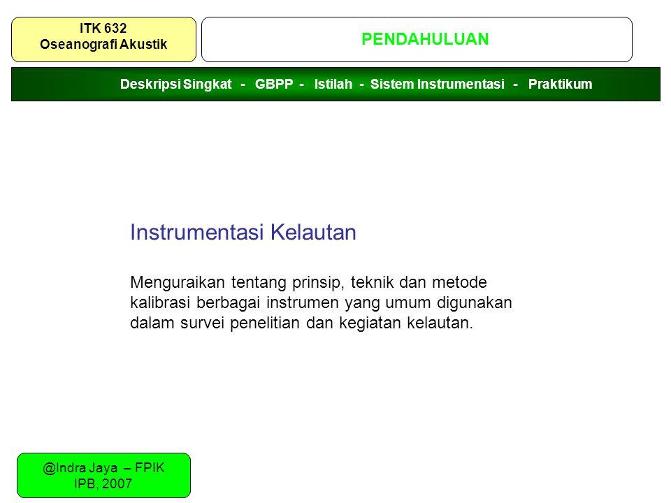 Instrumentasi Kelautan