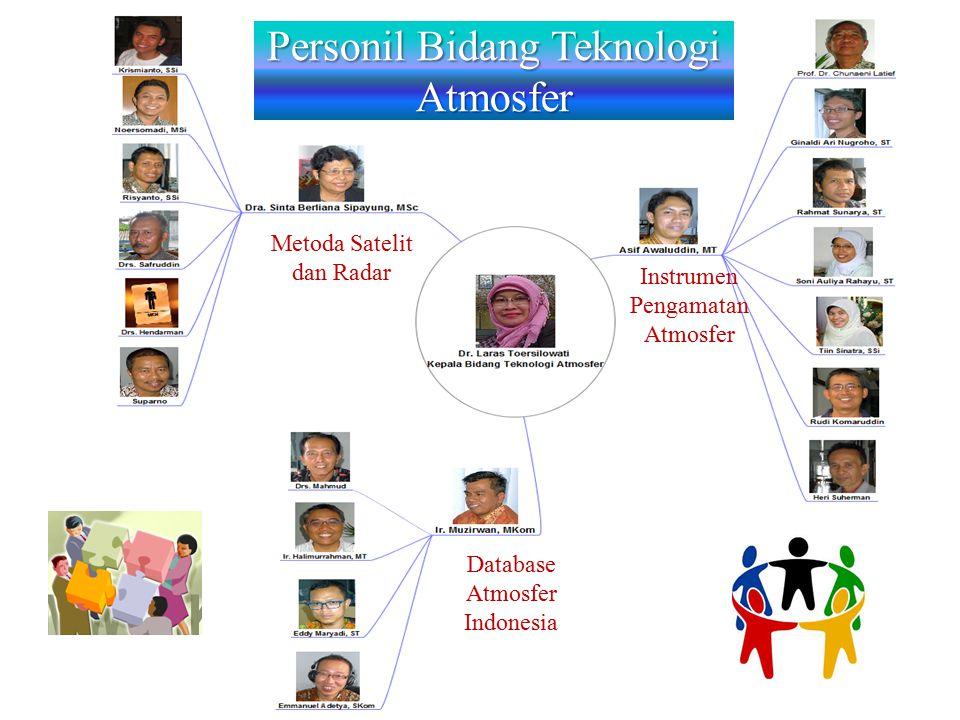 Personil Bidang Teknologi Atmosfer