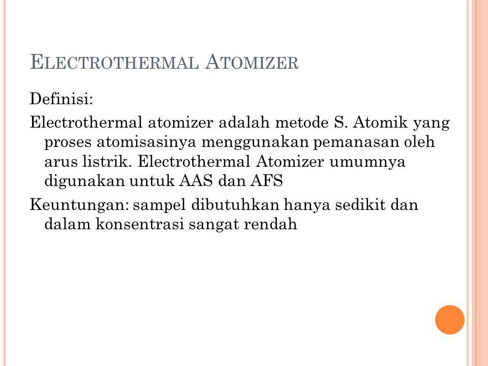Electrothermal Atomizer