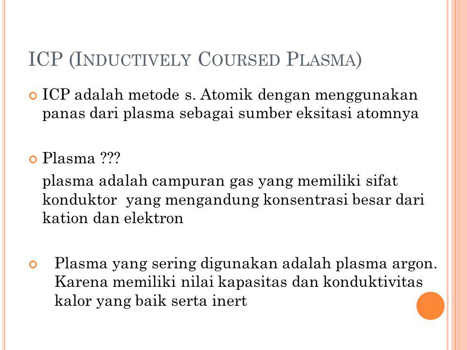ICP (Inductively Coursed Plasma)