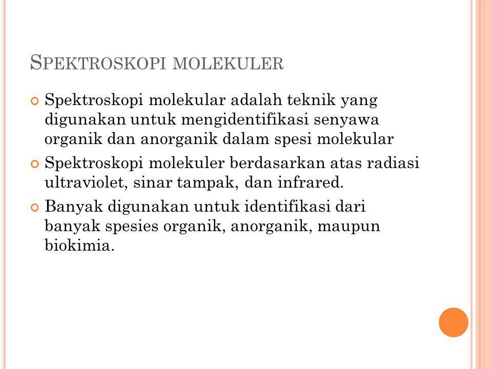 Spektroskopi molekuler