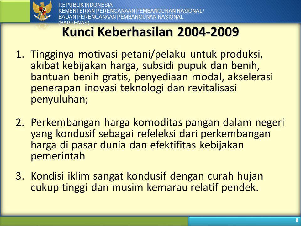 Kunci Keberhasilan 2004-2009