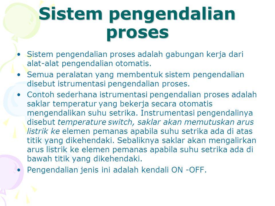 Sistem pengendalian proses