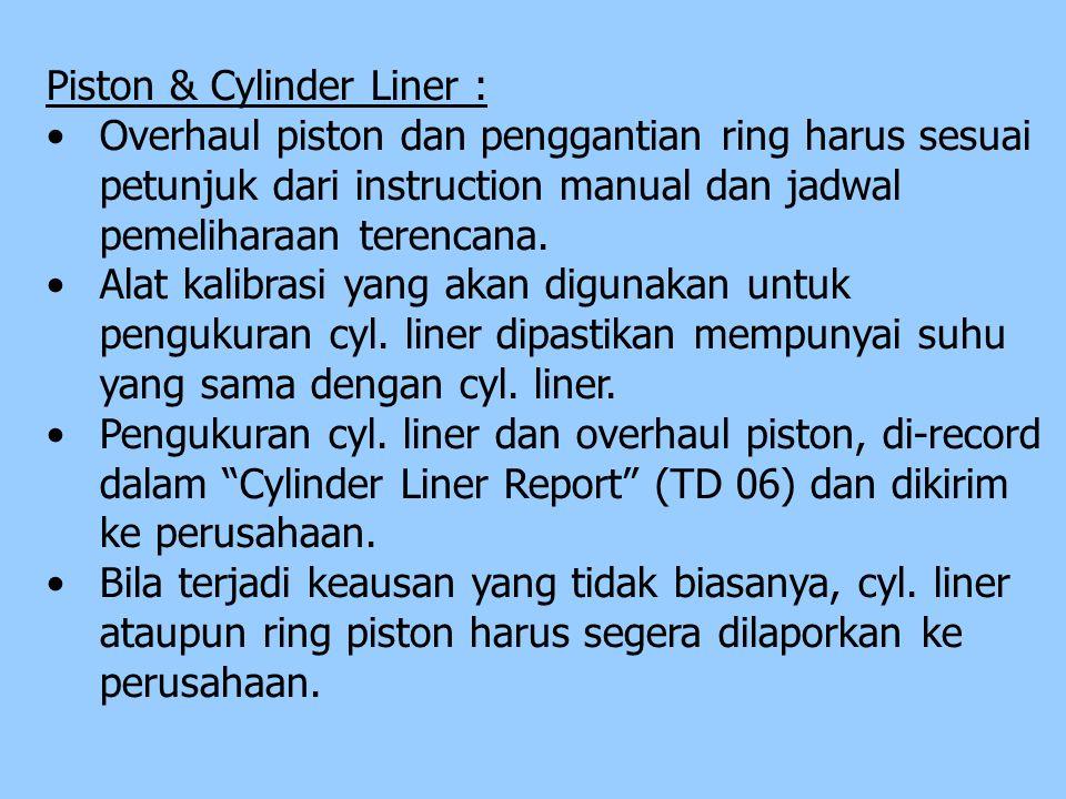 Piston & Cylinder Liner :