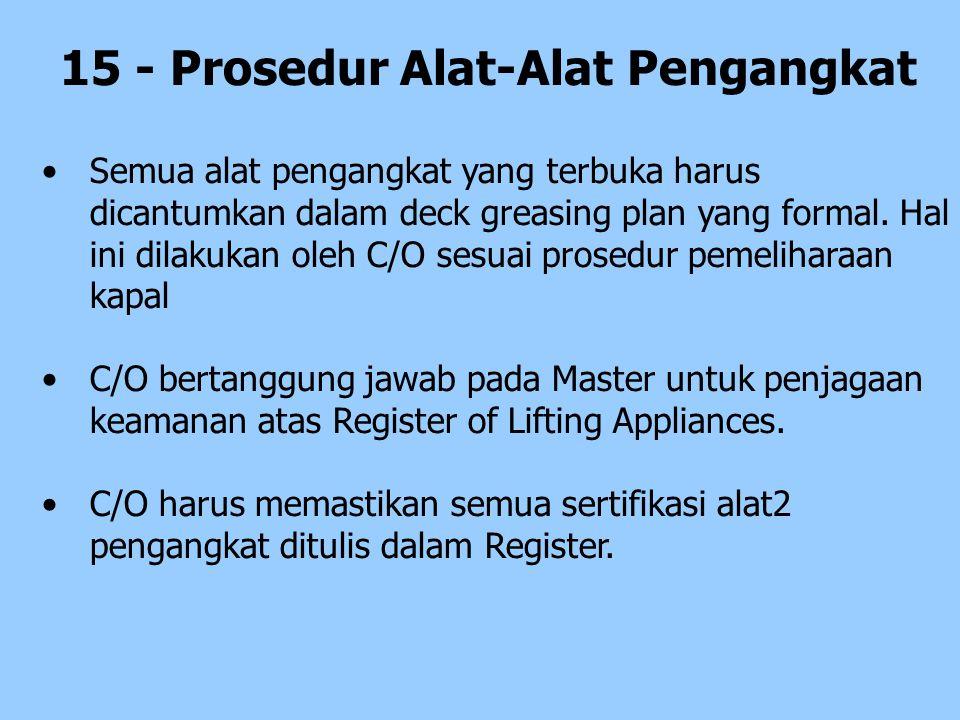 15 - Prosedur Alat-Alat Pengangkat