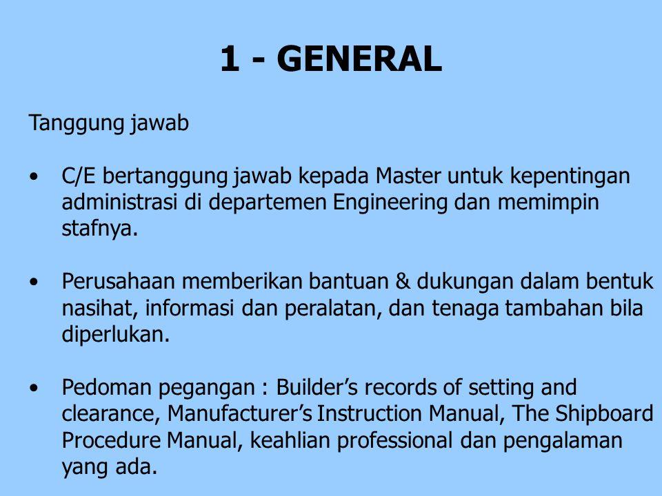 1 - GENERAL Tanggung jawab