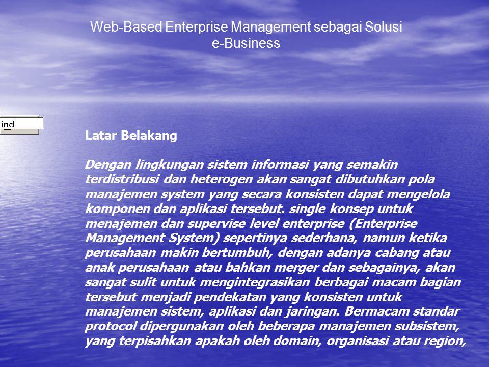 Web-Based Enterprise Management sebagai Solusi