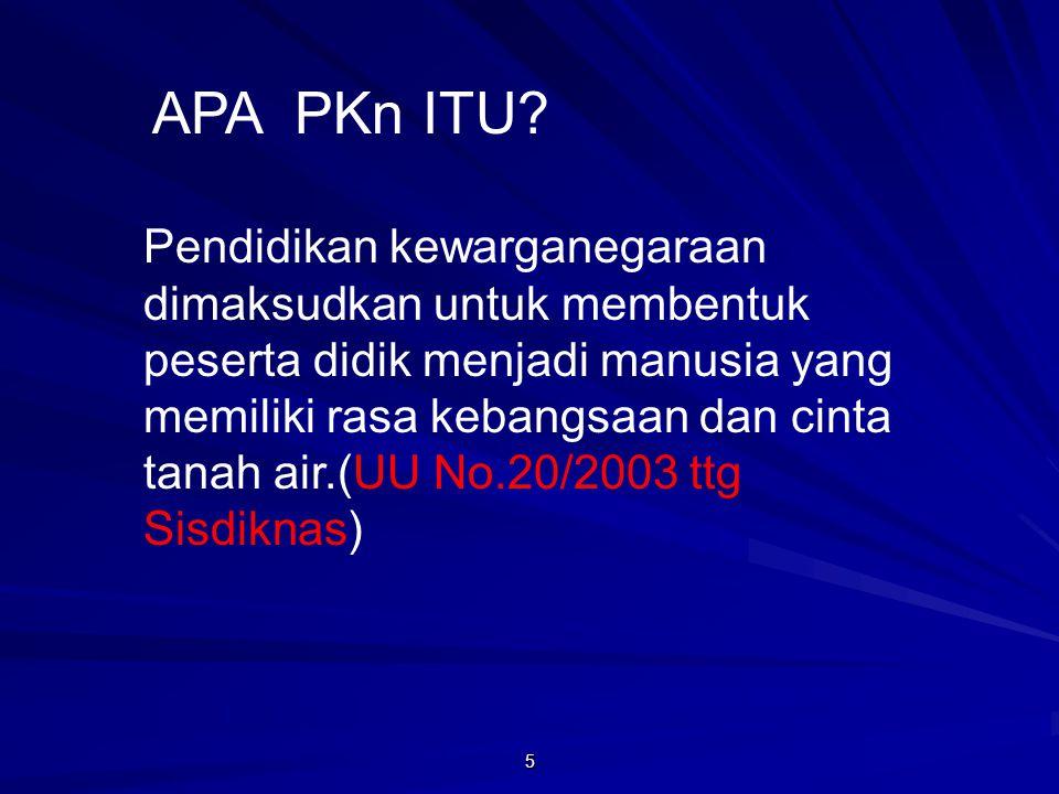 APA PKn ITU