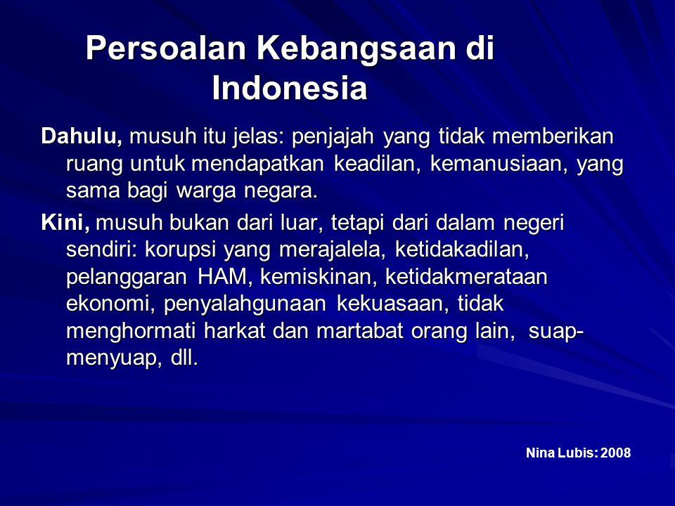 Persoalan Kebangsaan di Indonesia