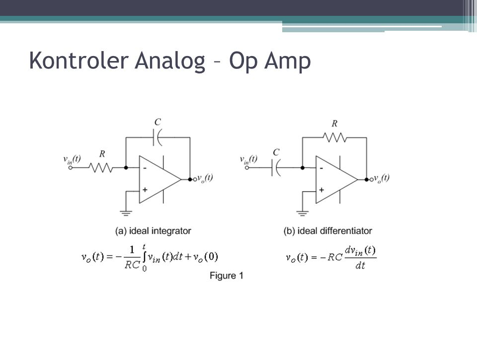 Kontroler Analog – Op Amp
