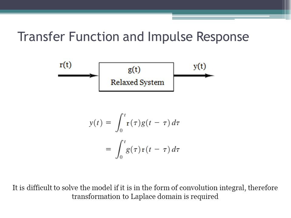 Transfer Function and Impulse Response
