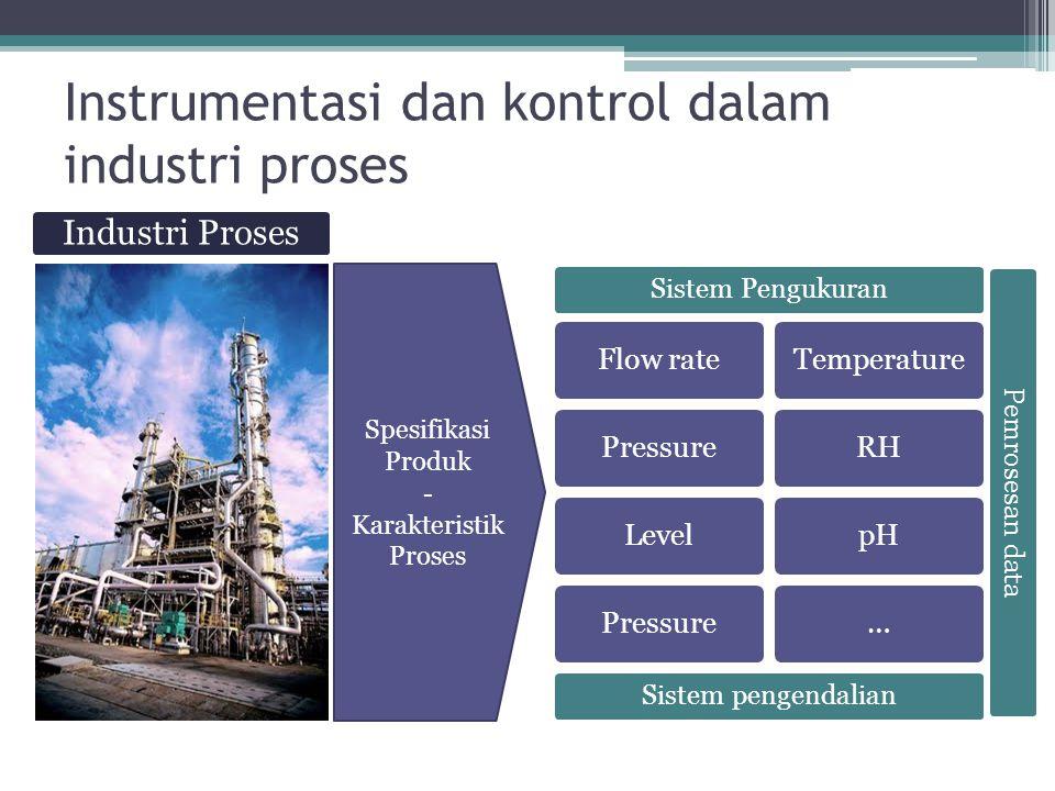 Instrumentasi dan kontrol dalam industri proses