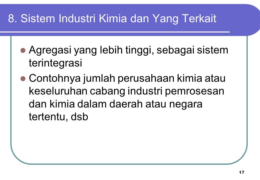 8. Sistem Industri Kimia dan Yang Terkait