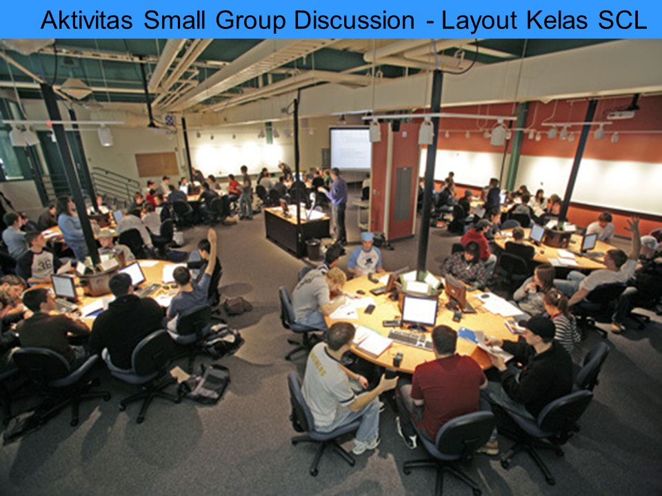 Aktivitas Small Group Discussion - Layout Kelas SCL