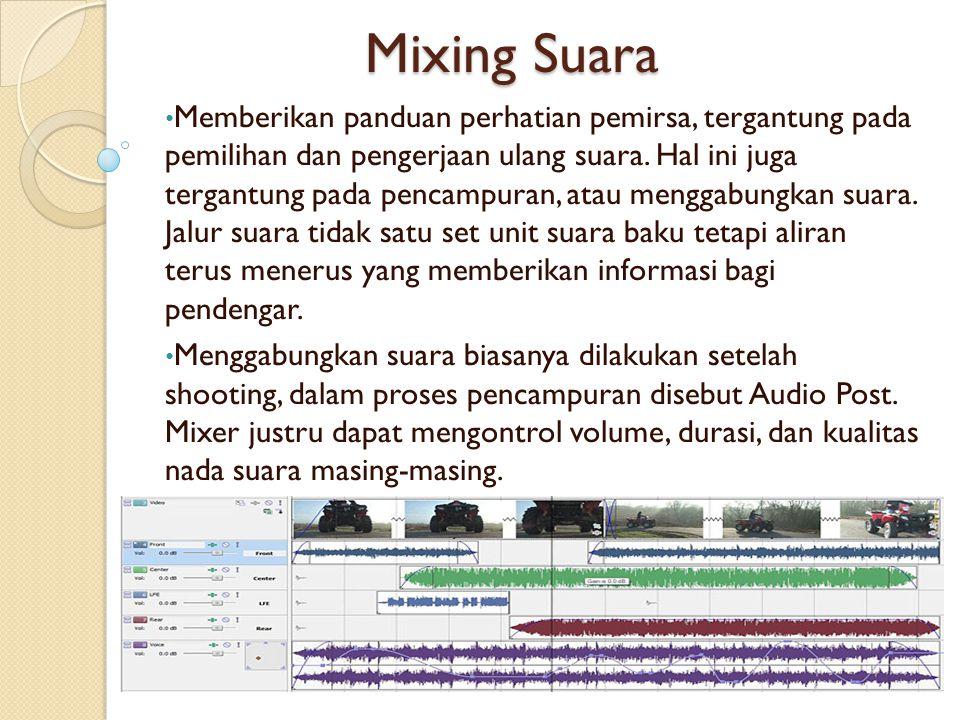 Mixing Suara