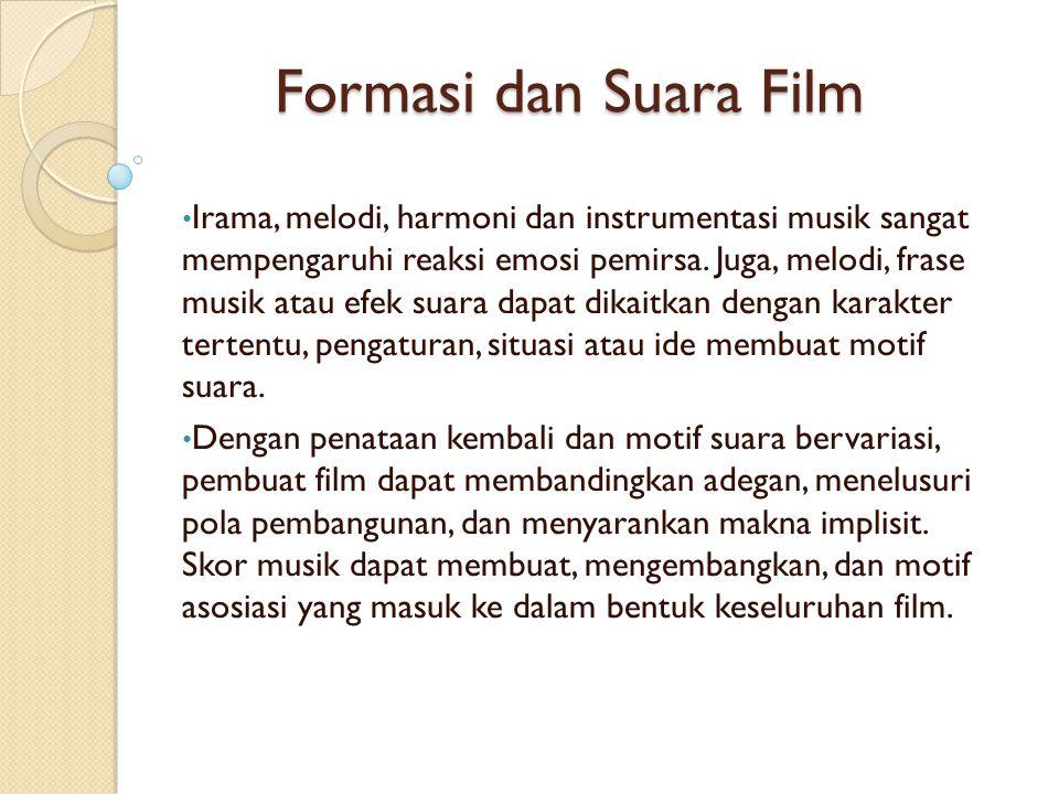 Formasi dan Suara Film