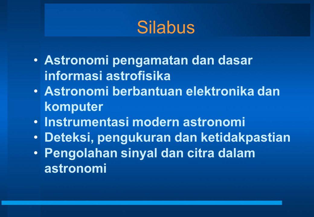 Silabus Astronomi pengamatan dan dasar informasi astrofisika