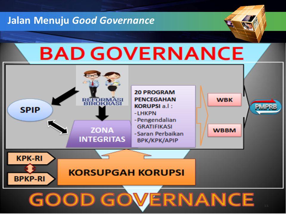 Jalan Menuju Good Governance