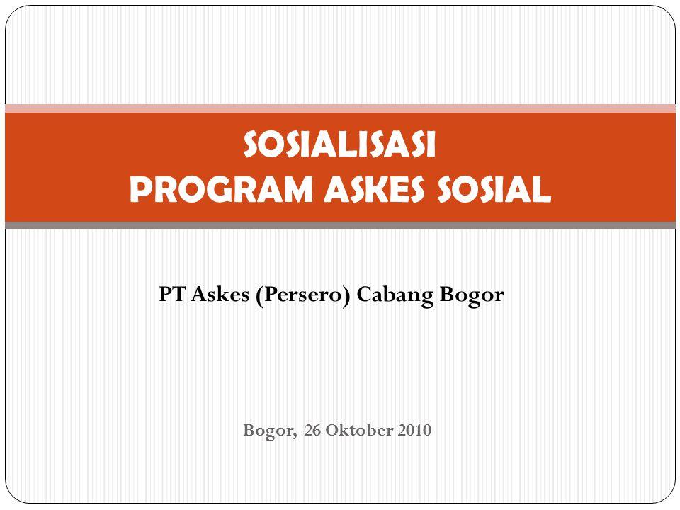 SOSIALISASI PROGRAM ASKES SOSIAL