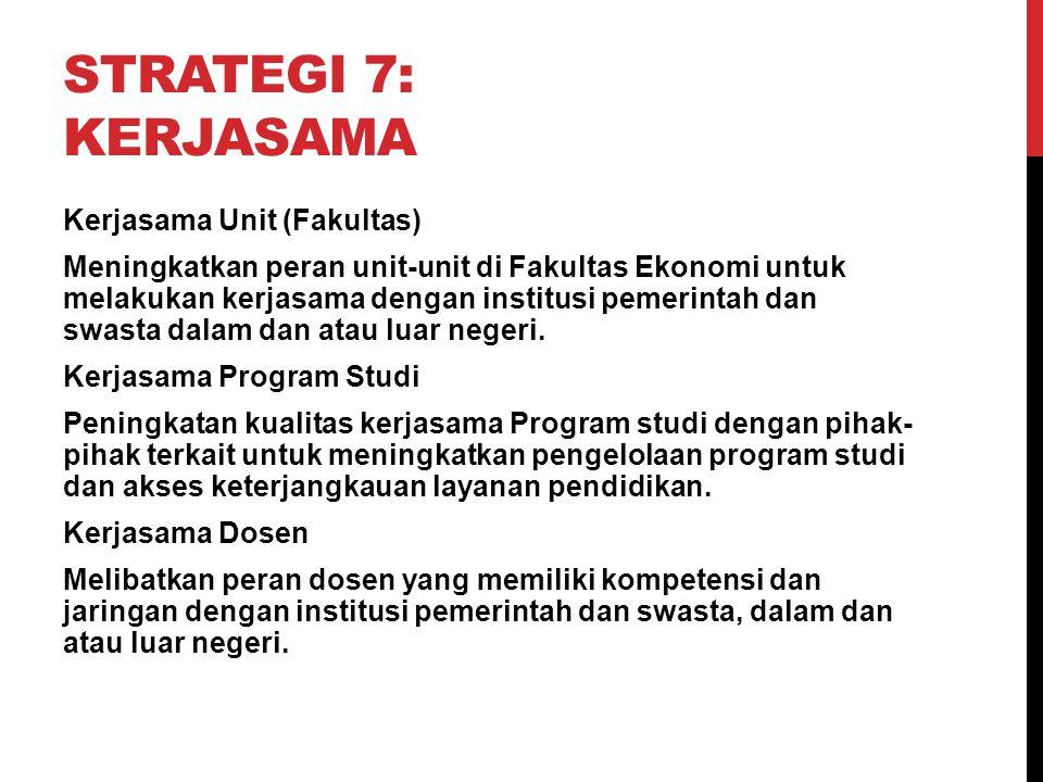 Strategi 7: Kerjasama