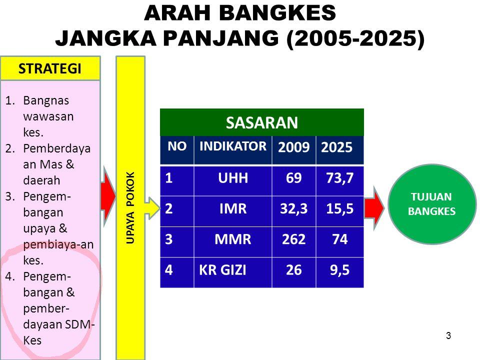 ARAH BANGKES JANGKA PANJANG (2005-2025)
