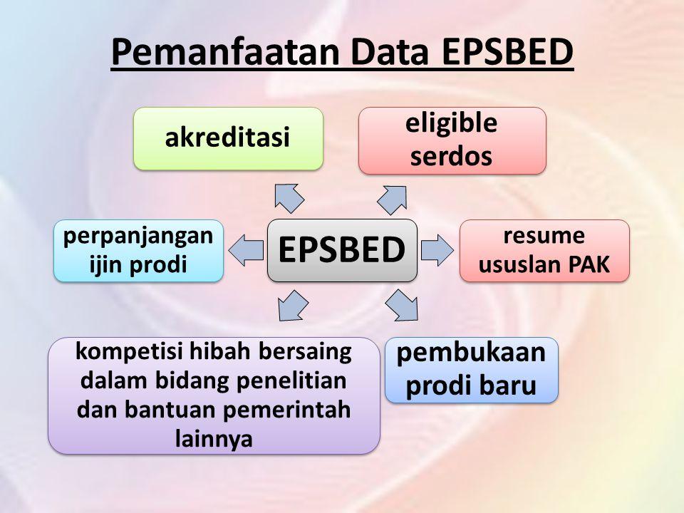Pemanfaatan Data EPSBED