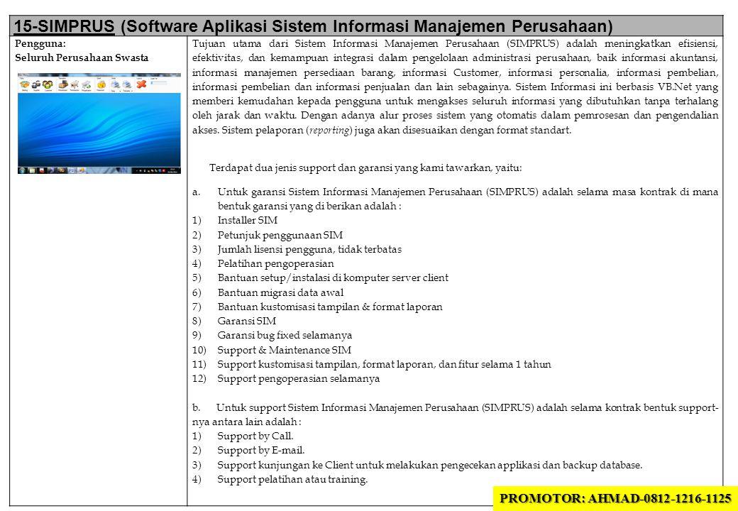 15-SIMPRUS (Software Aplikasi Sistem Informasi Manajemen Perusahaan)