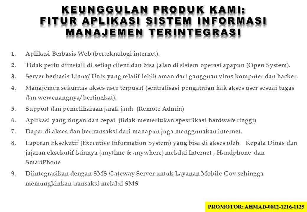Keunggulan produk kami: