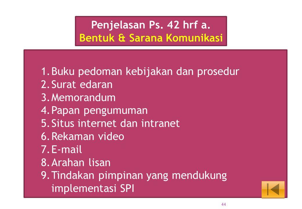 Bentuk & Sarana Komunikasi