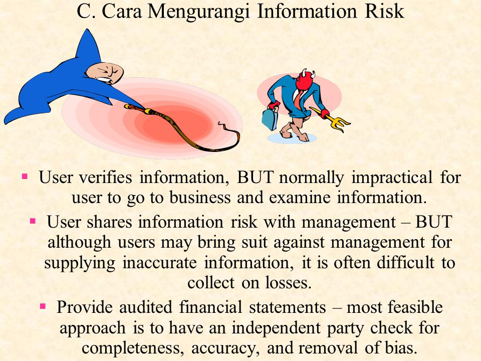 C. Cara Mengurangi Information Risk