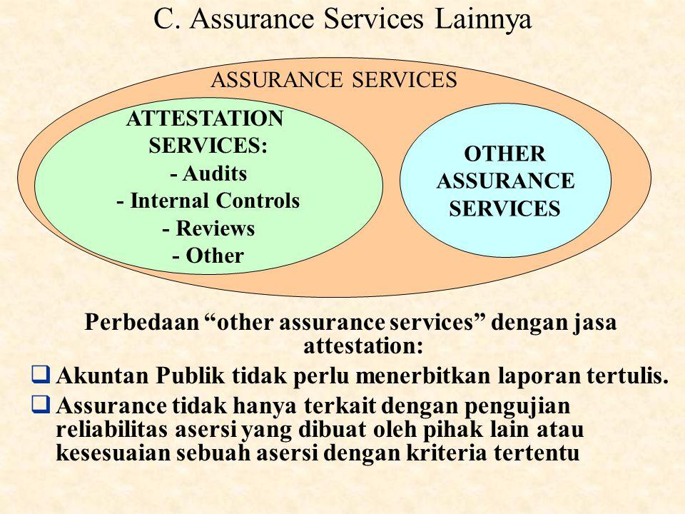C. Assurance Services Lainnya