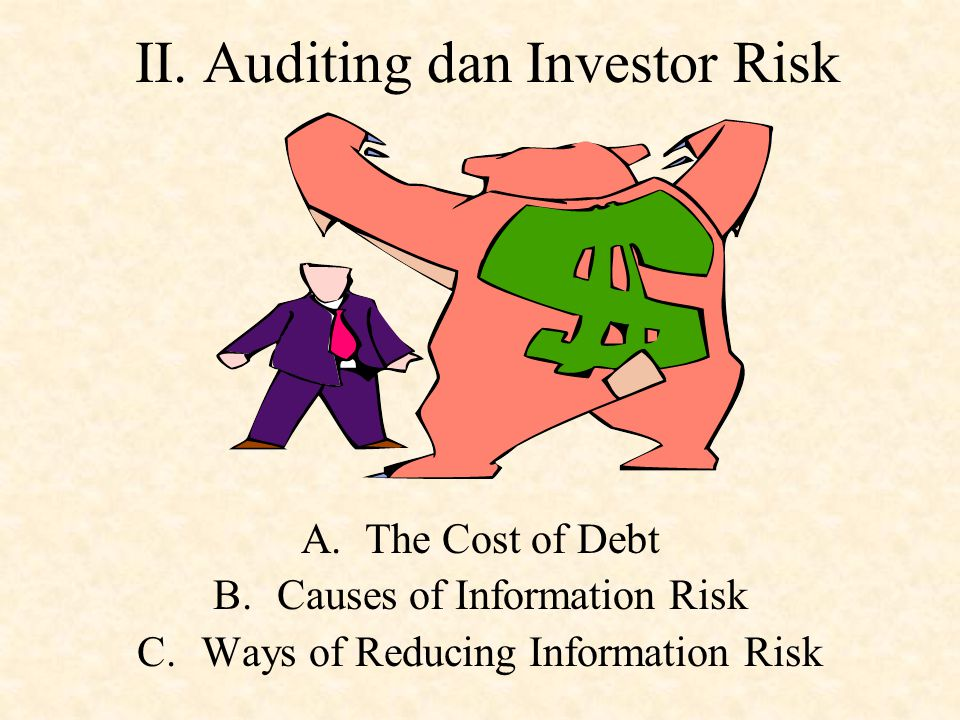 II. Auditing dan Investor Risk