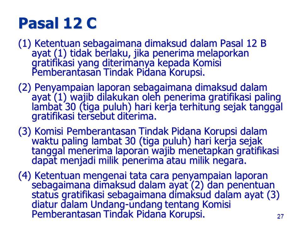 Pasal 12 C