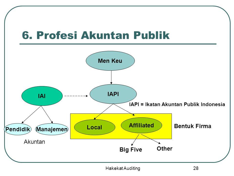 6. Profesi Akuntan Publik