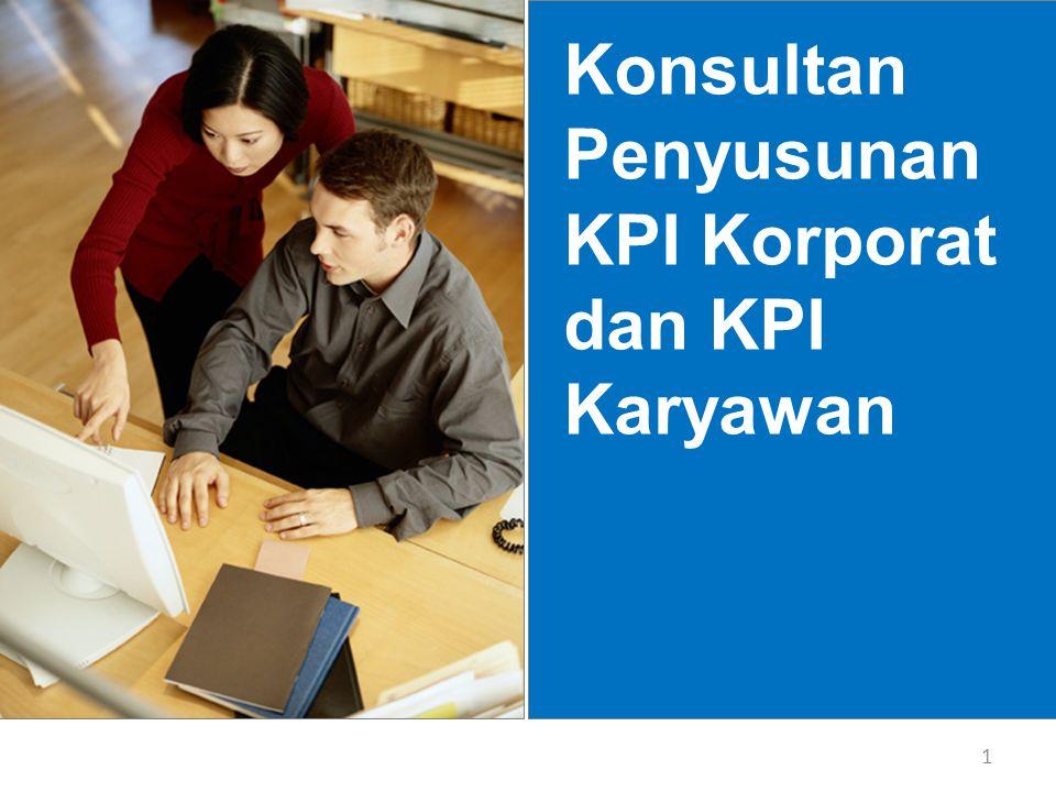 Konsultan Penyusunan KPI Korporat dan KPI Karyawan