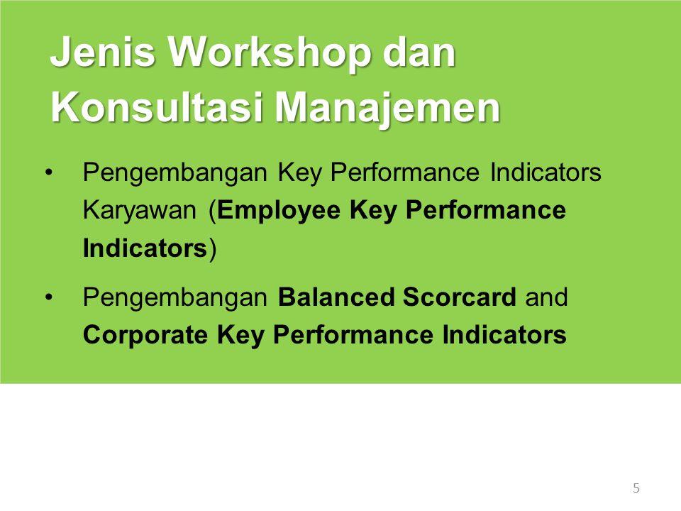 Jenis Workshop dan Konsultasi Manajemen