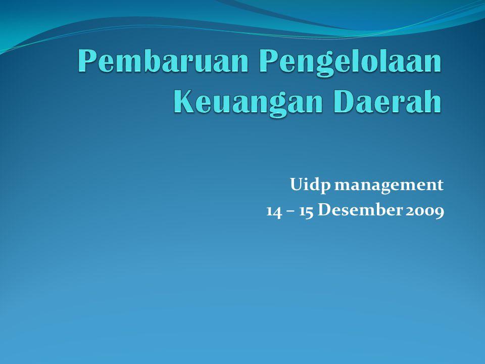 Pembaruan Pengelolaan Keuangan Daerah