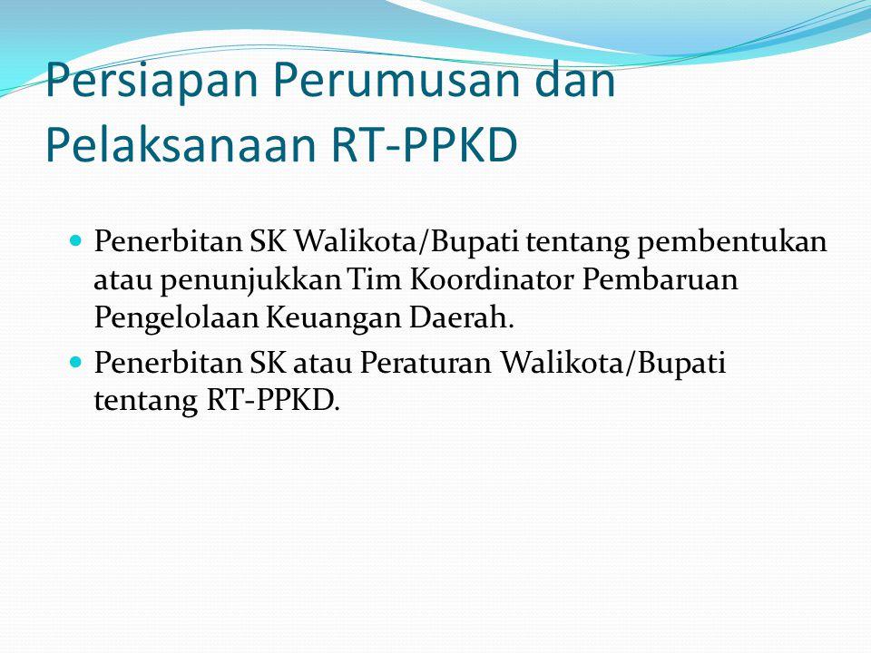 Persiapan Perumusan dan Pelaksanaan RT-PPKD