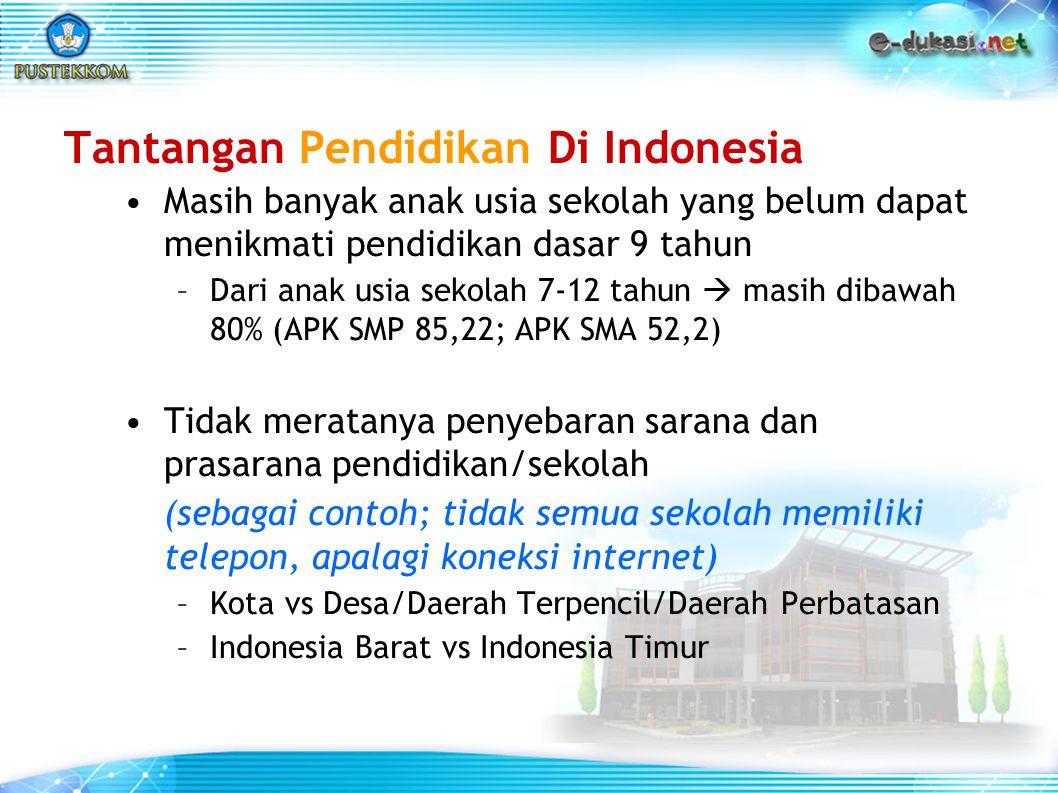 Tantangan Pendidikan Di Indonesia