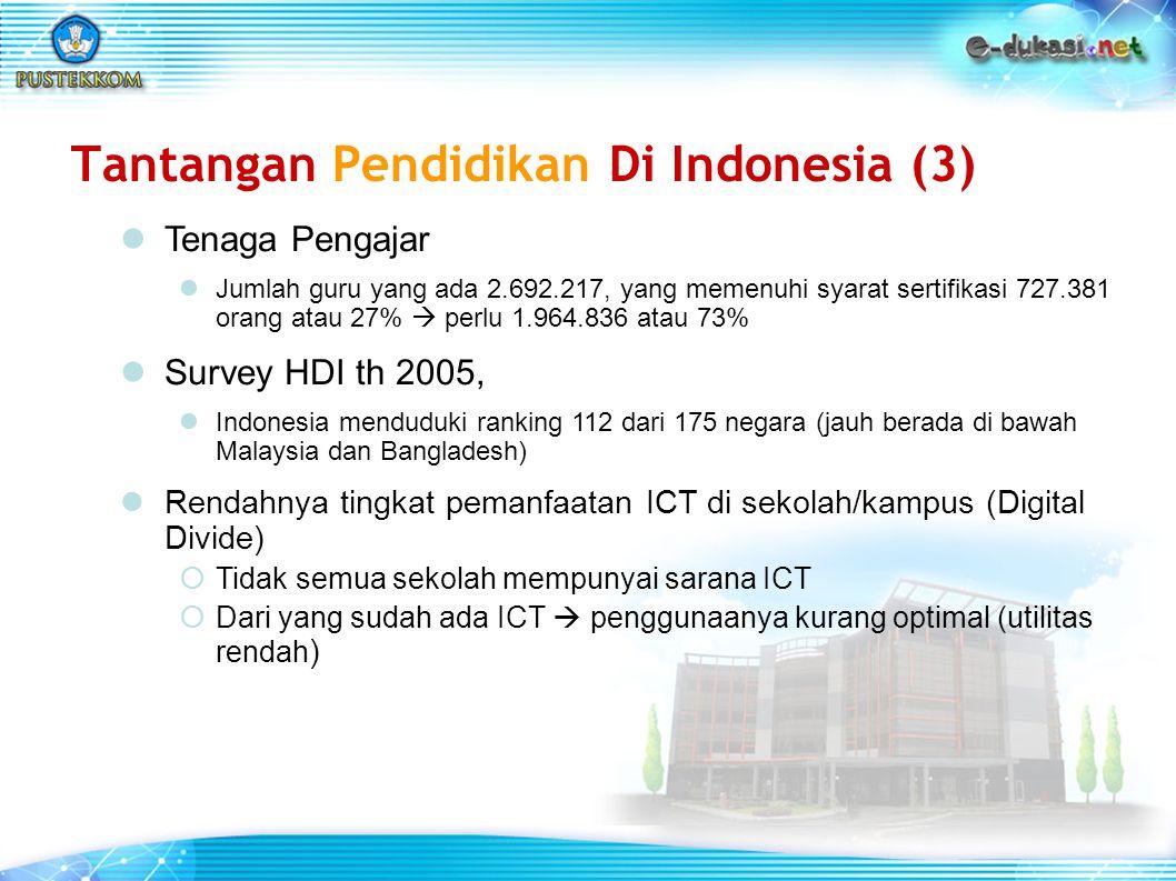 Tantangan Pendidikan Di Indonesia (3)