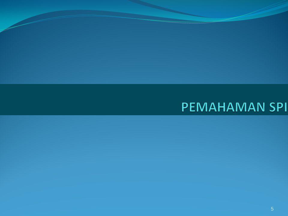 PEMAHAMAN SPI