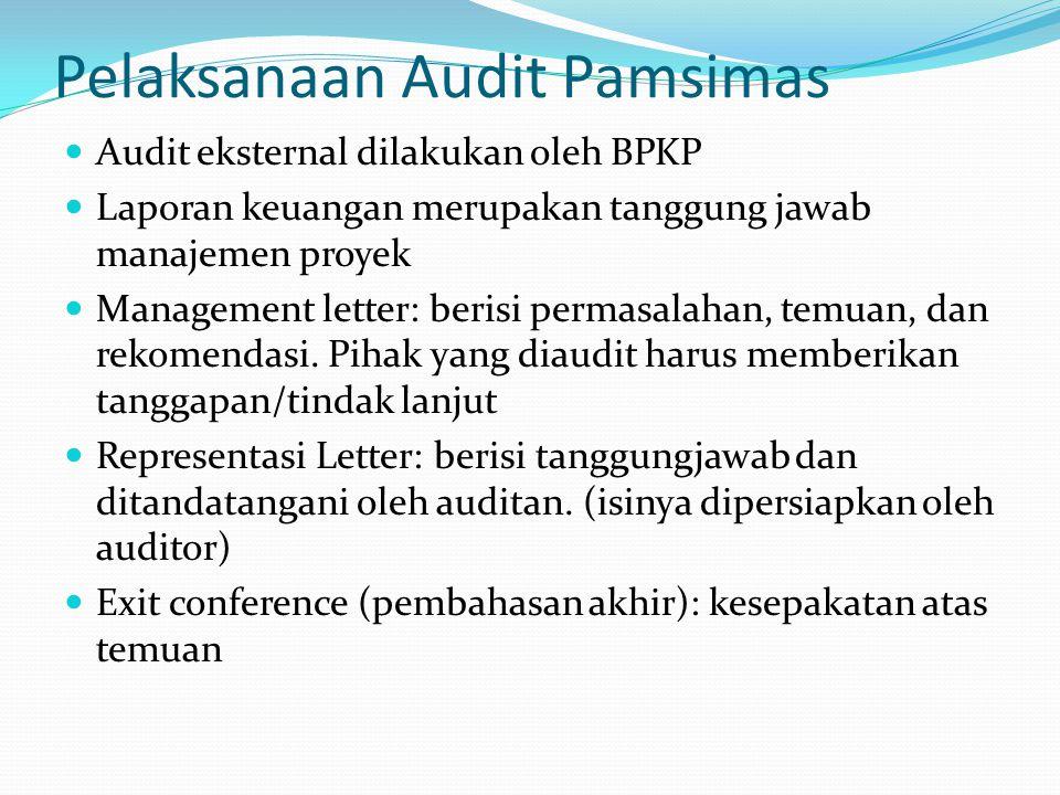 Pelaksanaan Audit Pamsimas