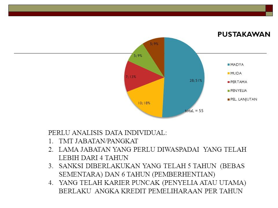 PERLU ANALISIS DATA INDIVIDUAL: