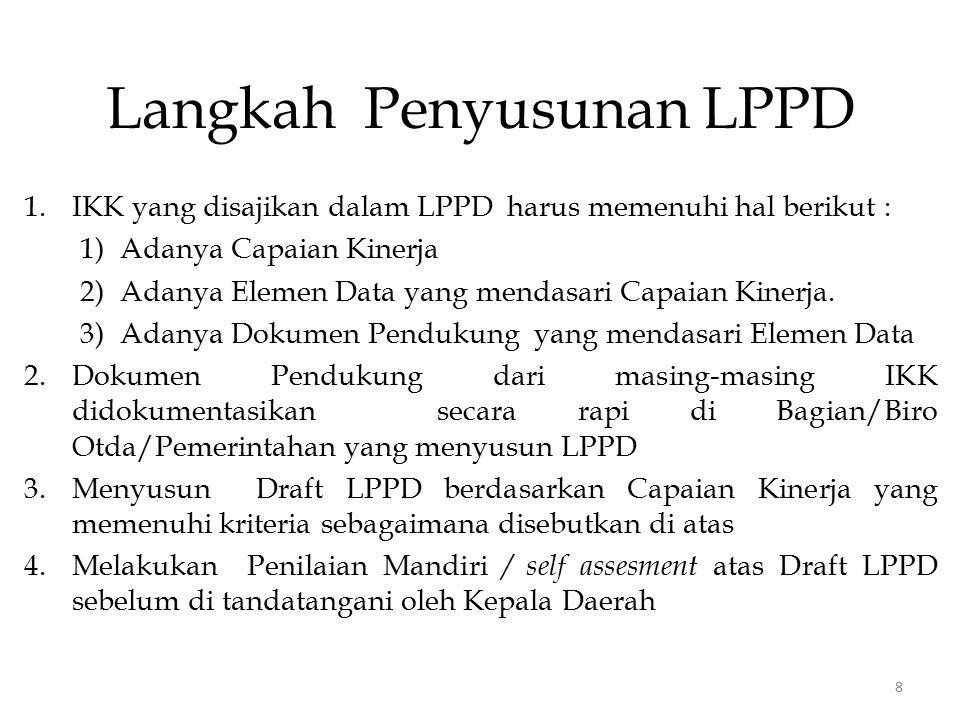 Langkah Penyusunan LPPD
