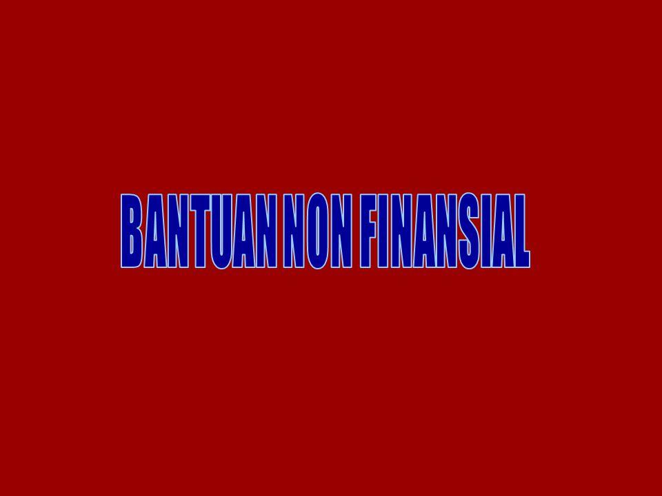BANTUAN NON FINANSIAL