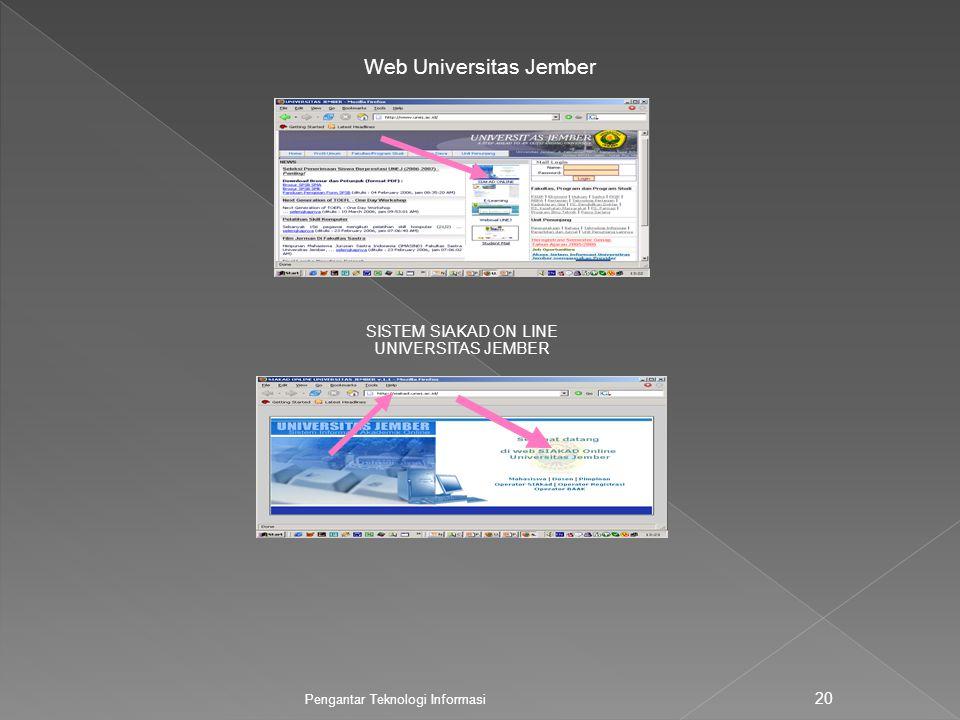 Web Universitas Jember