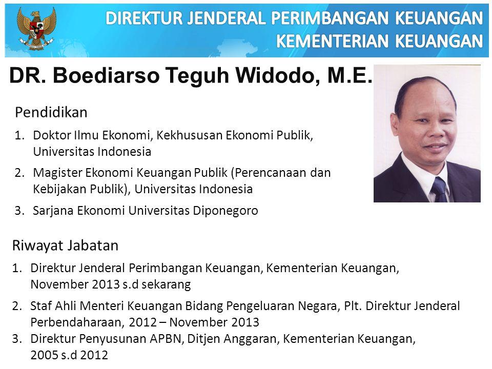 DR. Boediarso Teguh Widodo, M.E.