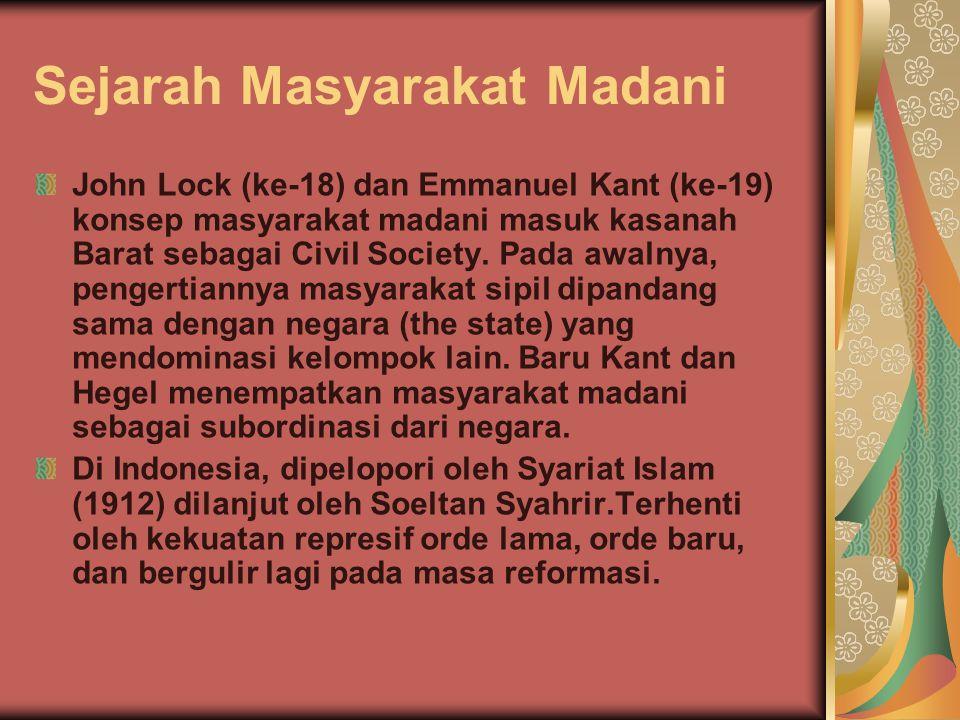 Sejarah Masyarakat Madani