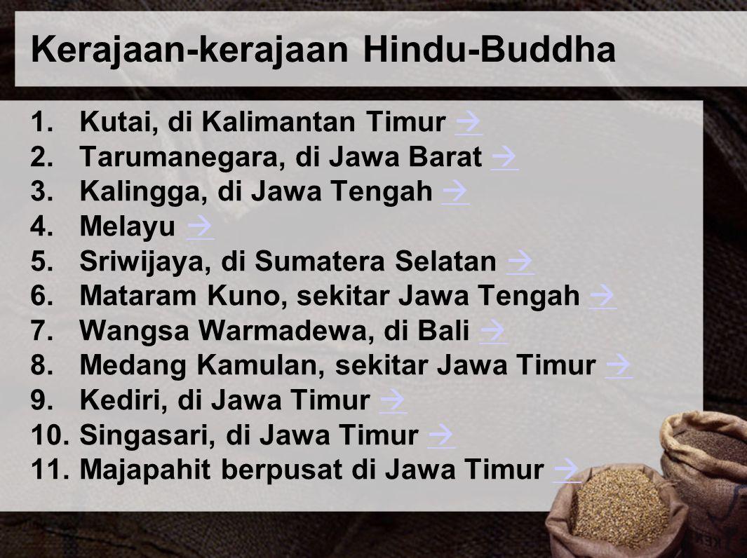 Kerajaan-kerajaan Hindu-Buddha